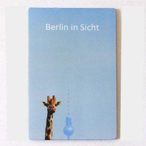 Magnet Giraffe Fernsehturm Berlin