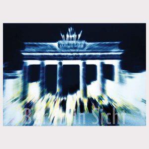 Postkarte Brandenburger Tor
