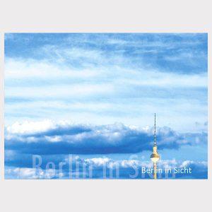 Postkarte Fernsehturm in Sicht