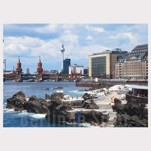 Postkarte Stonewall Beach Berlin am Meer