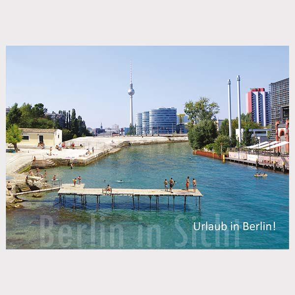 Postkarte Urlaub Berlin Berlin am Meer Postkarten Berlin in Sicht Onlineshop