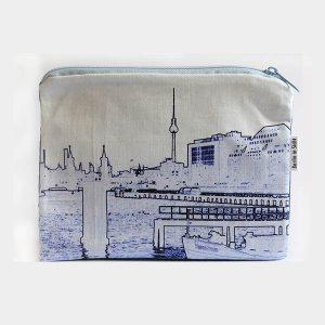 Stofftasche Berlin Skyline
